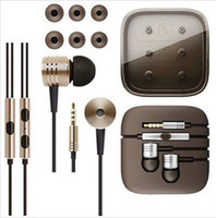 bass pack - Top Quality mm Metal Piston Super Bass Stereo Earphone Headset For XiaoMI M2 Samsung MP3 player with packing