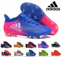 ag box - 2017 Adidas X Purechaos Primeknit Black Soccer Cleats Trainers NSG FG AG Ace Mens Football Boots Soccer Shoes With Box