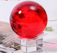 antique spot light - Authentic spot new red crystal ball furnishing articles Town house prosperous wind water polo hot prosperous fashion accessories