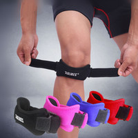Wholesale Aolikes Jumpers s Knee Patellar Tendon Support Strap Band Knee Support Brace Pads Fit Running basketball Outdoor Sport A