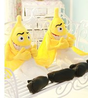 bad birthday gifts - Latest Cute Plush Toy Bad Banana Doll quot Yellow Lovely Figures High Quality Plush Dolls for Children Best Birthday Gift