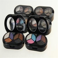 Wholesale Eyeshadow Eye Shadow Palette Makeup Colors Shimmer Pearl Natural Colorful Colors High Quality Cosmetics with Brush