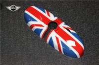 abs union - nterior Accessories Interior Mirrors ABS Car Interior Rearview Mirror Cover Classic style UV Protected Union Jack Checker Flag For