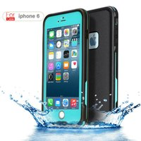 apple battery life - New original For iphone6 S Waterproof Case ft Underwater ip68 life water Shock Dirt proof Protection Cover for iPhone inch