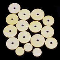Wholesale Yellow Close Hole Flute Leather Pads Mat Musical Instruments Accessories