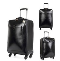 Wholesale 20 inch Carry Ons new hot sale PU Business Travel Suitcase Trolley Travel Bag On Wheels Boarding Luggage Tote Backpack