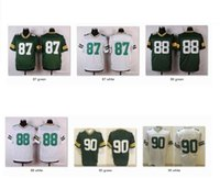 Wholesale Men Elite Jerseys GB Jordy Nelson Ty Montgomery BJ Raji Jersey WITH NAME Sports Wear Game Limited Free Drop Ship Mix Order