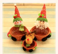 Wholesale Creative Christmas storage box Christmas gift box of candy the Decoration which placed in the window The decoration of home decoration