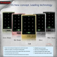 Wholesale Metal Touch Users Door RFID Access Control Keypad Case Reader