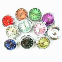 Wholesale Watch ginger snap button charms fit mm snap button bracelet