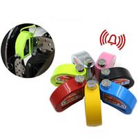 alarm disk lock - Six Colors Security Anti Theft System Motorcycle Bicycle Wheel Brake Disk Alarm Lock Moto Lock KSS L101