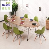 Wholesale new type PDF MDF wooden commercial furniture office customized size optional color office desk chair table