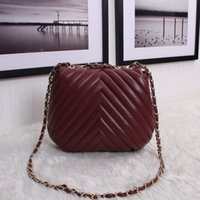 Wholesale 100 Lambskin Handbag Luxury Brand CC Bag Logo CC Bag Hot Celebrity Women S High Quality women bag women messenger bags
