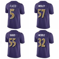 authentic ravens jerseys - 2016 Men s Ravens Purple Color Rush Limited Jerseys Baltimore Joe Flacco Steve Smith CJ Mosley authentic