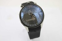 big concept - Hot Sale Fine Quality Mikrogiroer Men s Wristwatch Black Face Black Rubber Belt Black Big Dial Male Watch New Concept Watch