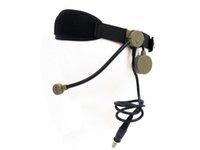 al por mayor sujetador del ejército-Z Tactical auriculares auriculares TEA Co sujetador auricular para la caza del ejército de caza de guerra airsoft negro / DE