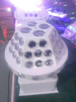 Wholesale Double layer LED Rotary UFO pattern lights KTV private room family partying lantern LED rotating pattern lights