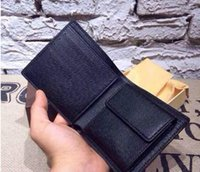 Wholesale new Fashion Brand Men Wallets Ultra Thin SHORT solid Solor Men s Wallet Credit Card Holder Purse