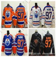 best america - 2016 World Cup North America Ice Hockey Jerseys Black Edmonton Oiler Connor McDavid Jersey Men Fashion Best All Stitched Quality