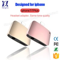 Wholesale 2 in Charging Audio Adapter For iphone7 iphone7 Plus Lighting to MM Headphone Headset