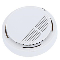 Wholesale 2017 New Standalone Photoelectric Smoke Alarm Fire Smoke Detector Sensor Home Security System for Home Kitchen
