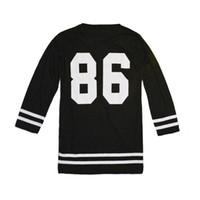 T-shirt manches courtes à manches longues O-Neck 86