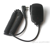 Vente chaude PTT opérant épaule haut-parleur microphone écouteur walkie-talkie RDO-JM01 microphone radio bidirectionnel, livraison gratuite