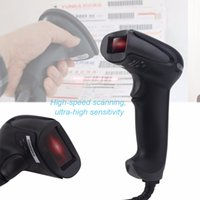 Wholesale NEW F5 Wired USB Laser Bar Code Scanner Reader Mobile Payment Computer Screen Scanner with mm Scan Depth