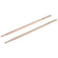 Vente en gros-Vente chaude! Paire de baguettes 5A en bois d'érable bâton pour tambours Set léger professionnel I344 de qualité supérieure