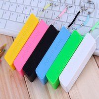 Wholesale mAh Power bank mAh USB Power Bank Portable External Battery Charger for iphone5 S G Samsung galaxy battery charger