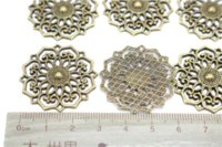 antique grilles - Jewelry finding amp components parts Bronze grilles Antique jewelry materials jewelry diy sweater chain accessories TP2183