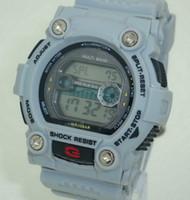Fashion big digital display - 2017 Sale Casual Unisex Round for Big B G Shors New Men Watches Shocking Watch Color Dual Display Sports Electronic Ga gga