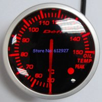 Wholesale mm Stepper Motor Defi Advanced BF Oil Temperature Meter Gauge White Red Light