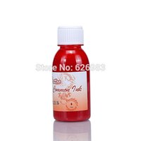 Wholesale Tattoo Supplies ML Bottle Red Color Temporary Body Art Paint Airbrush Tattoo Ink Pigment