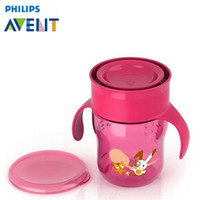 avent cups - AVENT ml Cartoon Learn To Drink Cup With Handles Kids Children Baby PP Bottle Cute Design Learning Drinking Mamadeira Garrafa