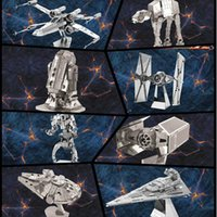 Wholesale d metal laser cut assembly model d metallic nano puzzle toys star wars musical instrument d building puzzle Chirstmas gifts