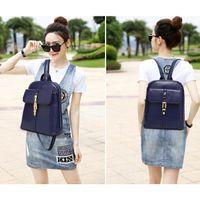 best brand backpacks - High Quality PU Leather Women Back Packs Vintage School Backpack For Girls Brand Designer Double Shoulders Bags Best Gift