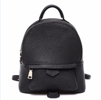 Wholesale Hot selling Pvc leather bag backpack schoolbag boys girls loves bags handbags With