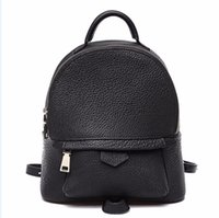 Wholesale Hot selling Pvc leather bag brand backpack schoolbag boys girls loves bags handbags Palm Springs bags purse With