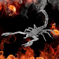 Wholesale D DIY Metal Puzzle Model Educational Toys For Children Adults Jigsaw Puzzle Scorpion Model Christmas Gift Models