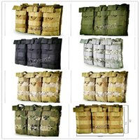 Wholesale Tactical equipment manufacturers selling the Molle system of tactical vest accessory bag d nylon sanlian receive bag