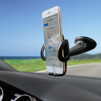 Wholesale Phone Car Mount Holder Phone Holder Windshield Cradle for iPhone Plus plus Samsung Galaxy S5 S6 S6 Edge S7 S7 Edge and More