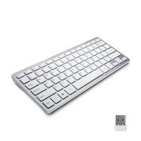 Wholesale Wireless Bluetooth keyboard for ipad ipad mini iphone4 S android device apple iphone universal Bluetooth keyboard