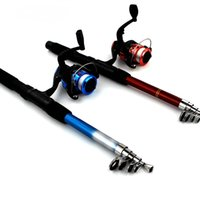 Wholesale Fishing Reel And Rod Set m Telescopic Fishing Rod BB Carp Fishing Spinning Reel Rod Combo