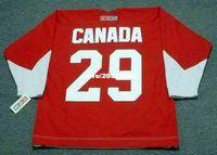 team canada jerseys - Cheap custom retro KEN DRYDEN Team Canada CCM Vintage Jerseys Throwback Hockey Jersey