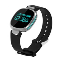 Ip67 bluetooth France-E08 Bluetooth Smart Band moniteur de fréquence cardiaque étanche IP67 Fitness Tracker Watch pour iOS Android PK Fitbits miband mi