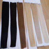 best skin weft - 16 inches Tape In Hair Straight Indian Skin Weft Hair pieces Long Hair Extensions On Tape Colors Best Selling