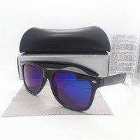 Gafas de sol de las mujeres de los hombres de la manera diseñador de la marca de fábrica que conduce los vidrios de Sun del partido del deporte Los accesorios de las lentes de la vendimia de la