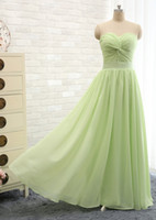 best cross training - Best Selling Chiffon Green Long Cheap Bridesmaid Dresses Sweetheart Off the Shoulder Prom Gowns