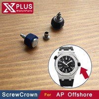 ap screw - mm Hexagon waterproof rubber steel watch screw crown for AP oak OFFSHORE diver ST OO A002CA watch parts